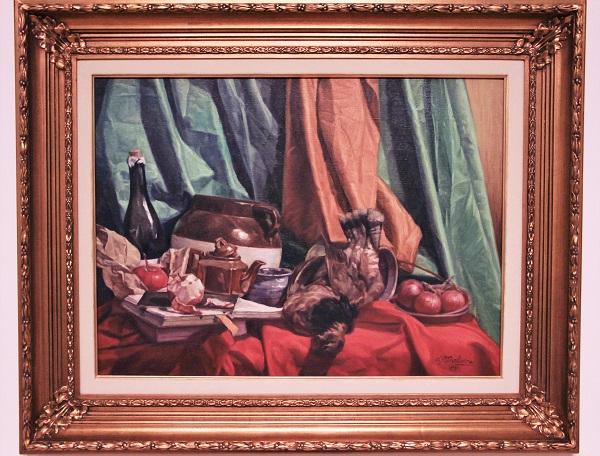 Nature morte, huile sur toile, 1933