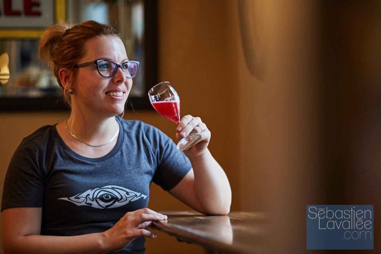 Visite à L'Autre Oeil pour Tourisme Outaouais avec Bianca Paquette. (Photo : Sebastien Lavallee)