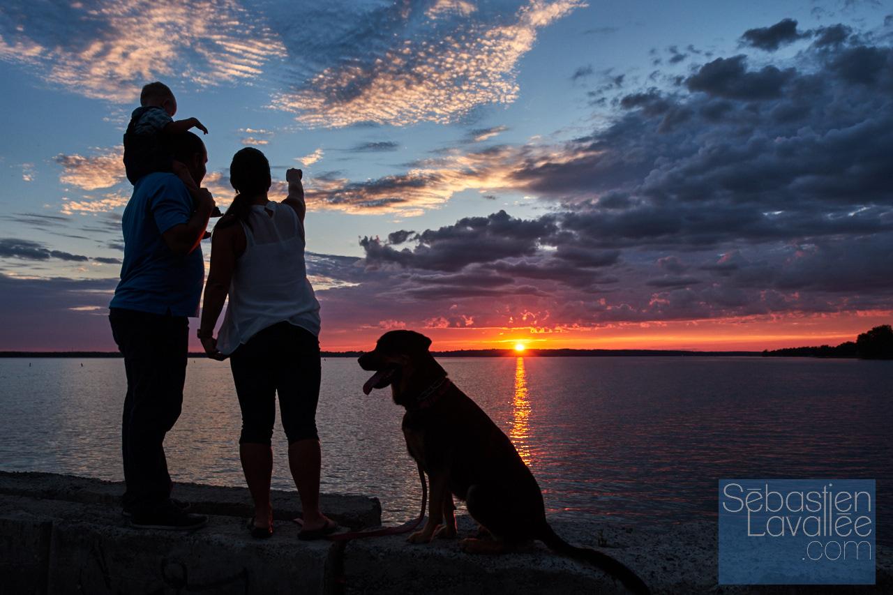 Visite à la marina d'Aylmer pour Tourisme Outaouais avec Bianca Paquette et sa famille. (Photo : Sebastien Lavallee)