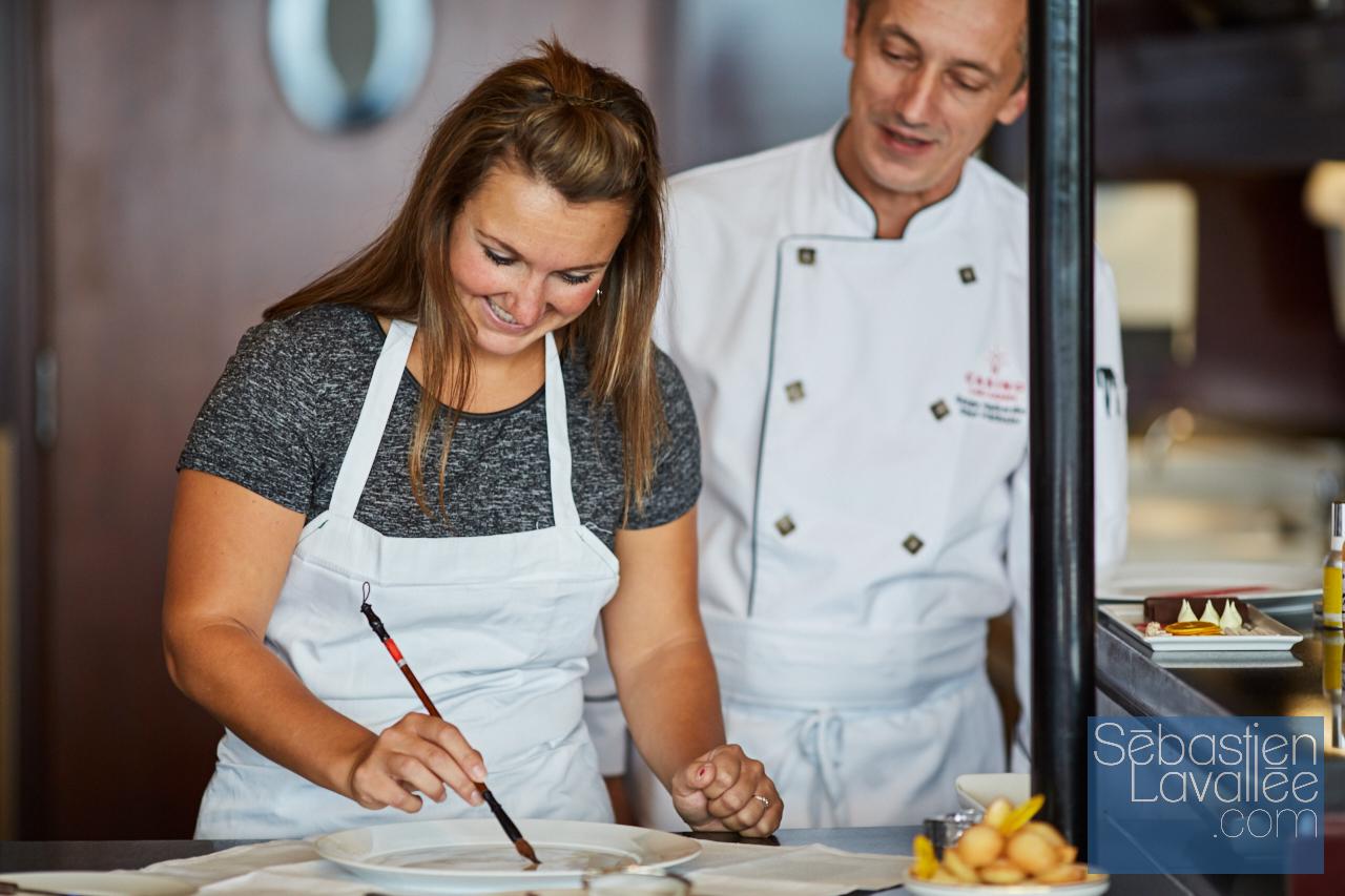 Rencontre avec Serge Halbardier, chef pâtissier au Baccara (Casino Lac Leamy) - Photo : Sébastien Lavallée