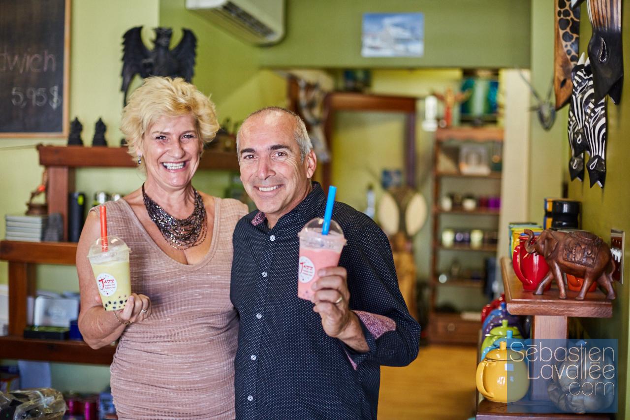 Visite au Sérénithé, à Aylmer, pour Tourisme Outaouais avec Bianca Paquette. (Photo : Sebastien Lavallee)