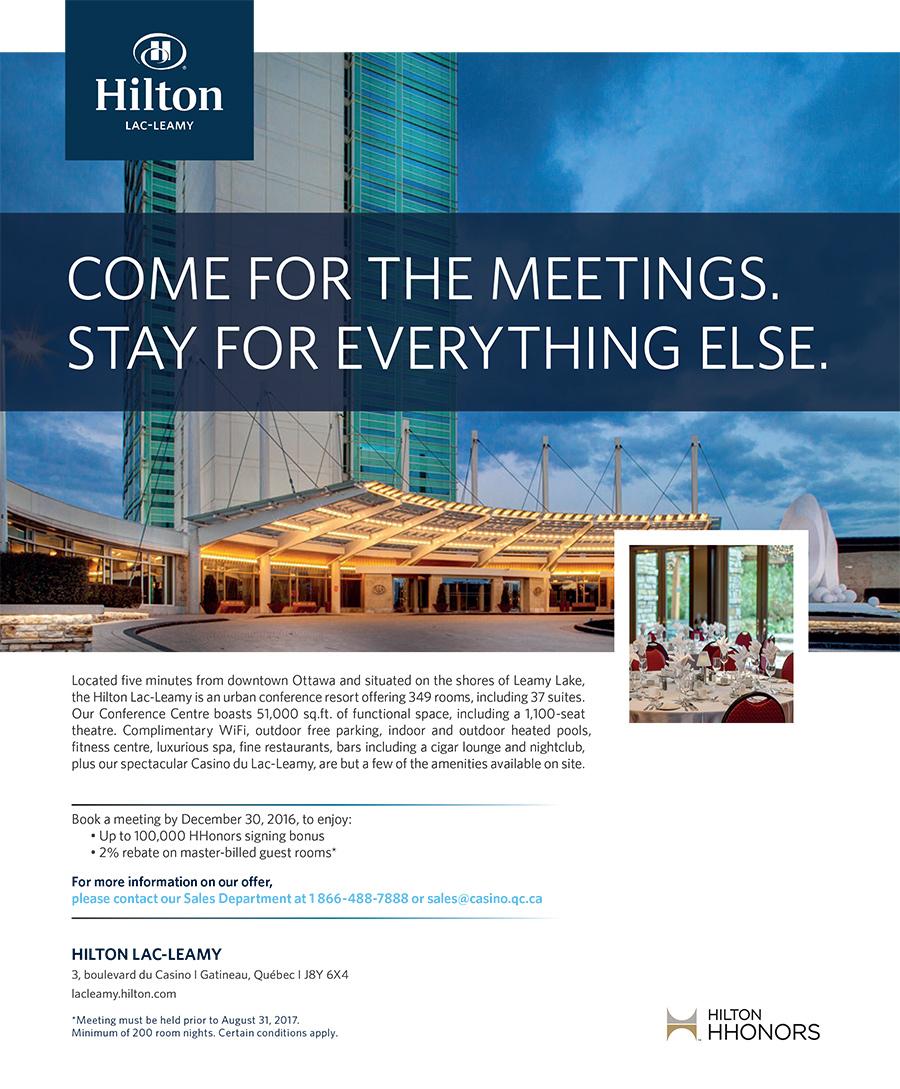 Hilton Lac-Leamy Publicity