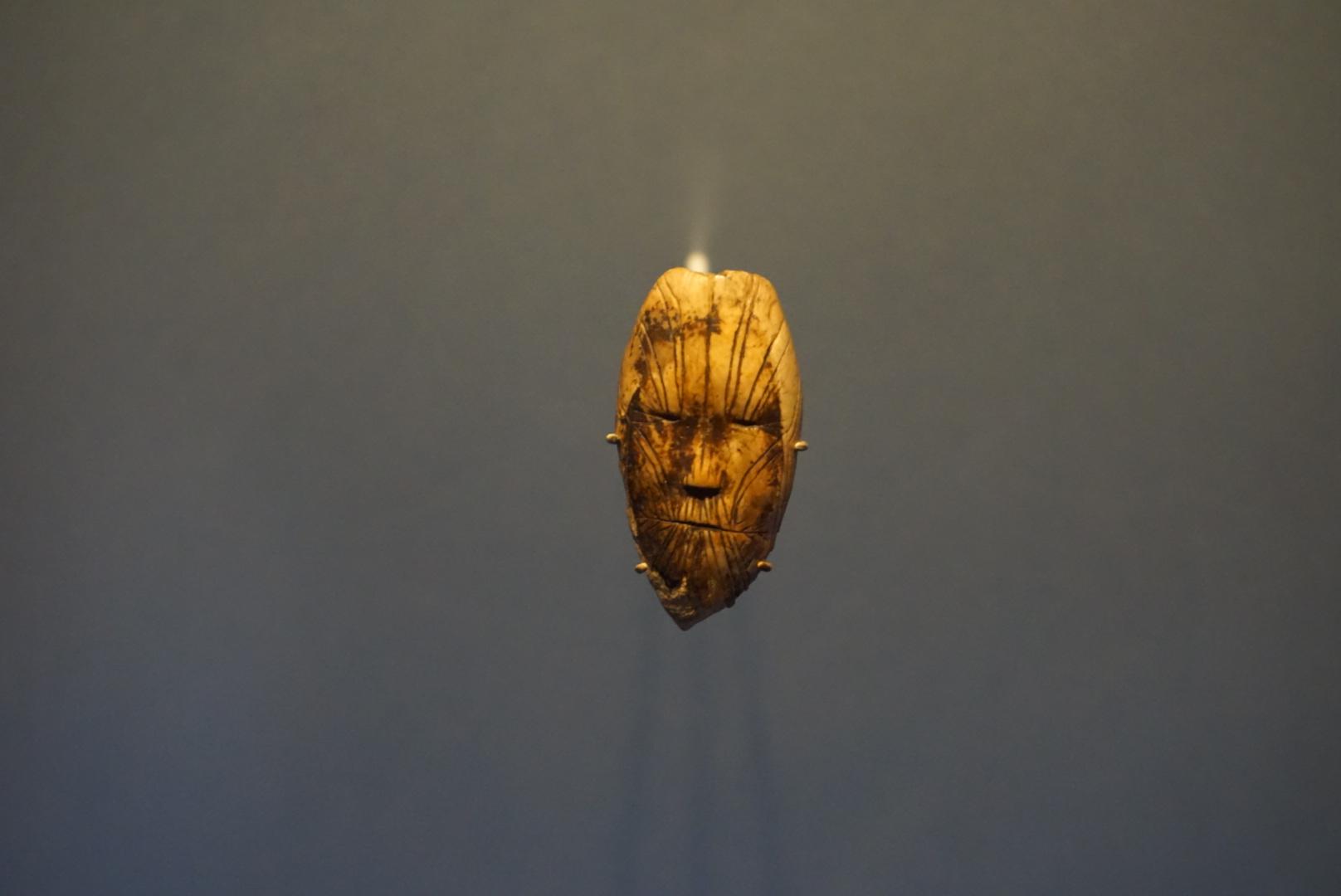 La plus vieille représentation d'un visage trouvée au Canada. Photo: Anne-Marie Bédard